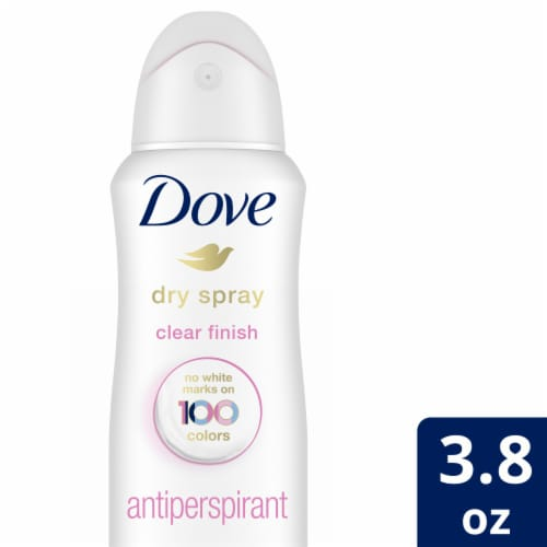 Dove Invisible Dry Spray Clear Finish Antiperspirant Deodorant Perspective: front