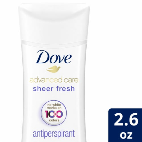 Dove Advanced Care Sheer Fresh Invisible Solid Antiperspirant & Deodorant Perspective: front