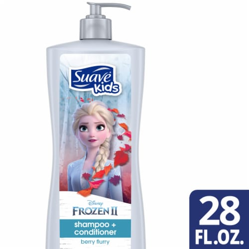 Suave Kids Disney Berry Flurry Shampoo + Conditioner Perspective: front