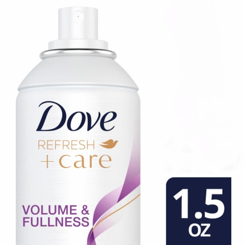 Dove Refresh + Care Volume & Fullness Dry Shampoo Perspective: front