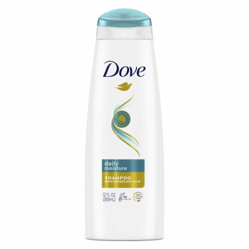 Dove Daily Moisture Shampoo with Pro-Moisture Complex for Normal to Dry Hair Perspective: front