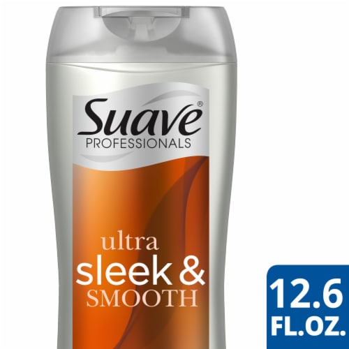 Suave Professionals Sleek Shampoo Perspective: front
