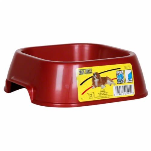 Van Ness Small Lightweight Pet Dish Perspective: front
