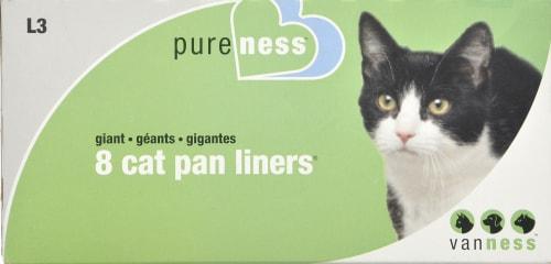 Van Ness Giant Cat Pan Liners Perspective: front