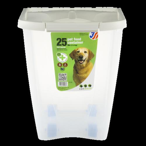 Van Ness Pet Food Container Perspective: front