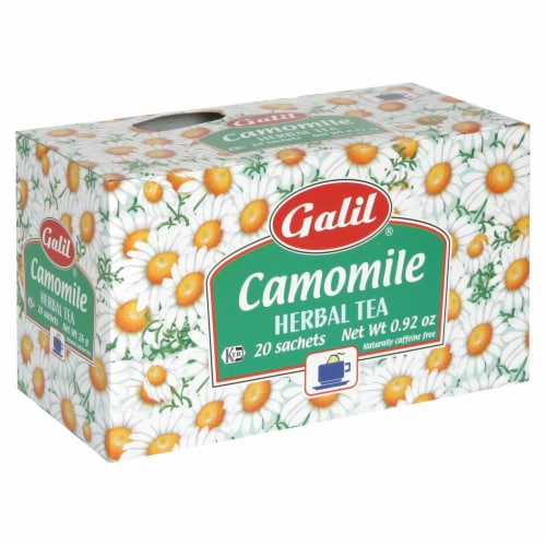Galil Chamomile Tea Perspective: front