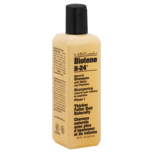 Mill Creek Biotene H-24 Natural Shampoo Perspective: front