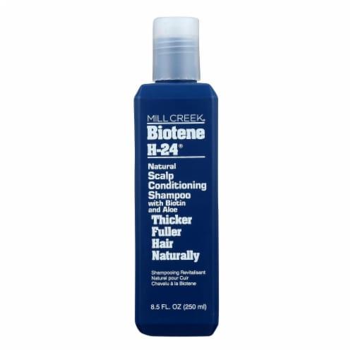 Mill Creek Shampoo - Biotene H-24 - Scalp Conditioning - 8.5 oz Perspective: front