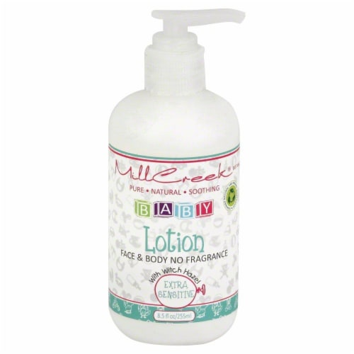 Mill Creek Baby Face & Body Lotion Perspective: front