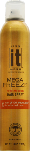 Freeze it Mega Freeze Hair Spray Perspective: front