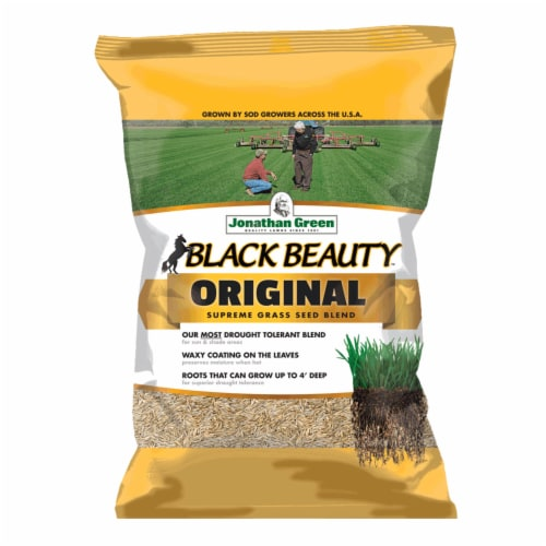 Jonathan Green 10317 15 lbs. Black Beauty Grass Seed Mixture Perspective: front