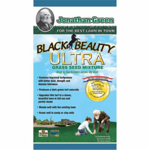 Jonathan Green 10320 1.12 lbs. Black Beauty Ultra Grass Seed Perspective: front