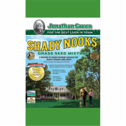 Jonathan Green 11957 3 lbs. Shady Nooks Grass Seed Mixture Perspective: front