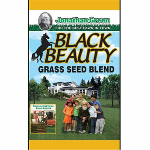 Jonathan Green 10315 25 lbs. Black Beauty Grass Seed Mixture Perspective: front