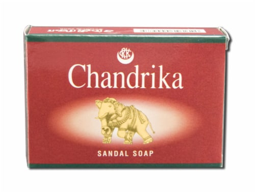 Chandrika Sandal Bar Soap Perspective: front