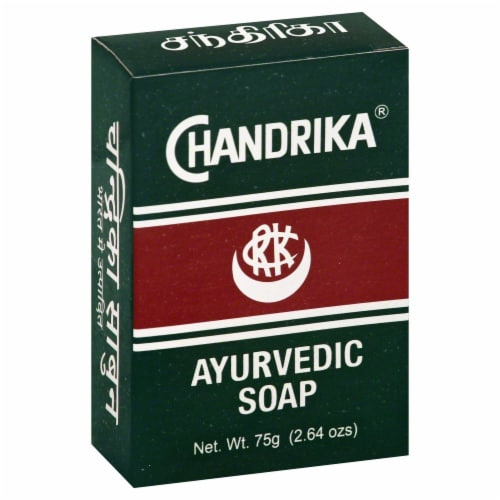 Chandrika Ayurvedic Soap Perspective: front
