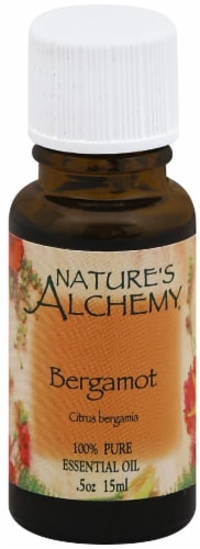 Nature's Alchemy Bergamot Essential Oil Perspective: front