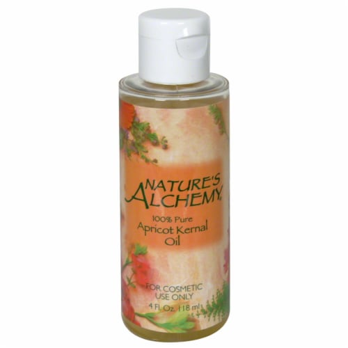 Nature's Alchemy 100% Pure Apricot Kernal Oil Perspective: front