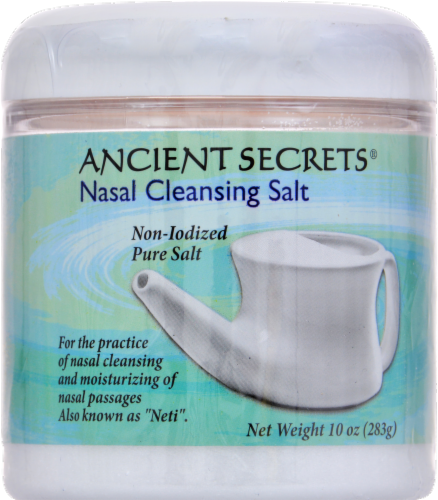 Ancient Secrets Nasal Cleansing Salt Perspective: front