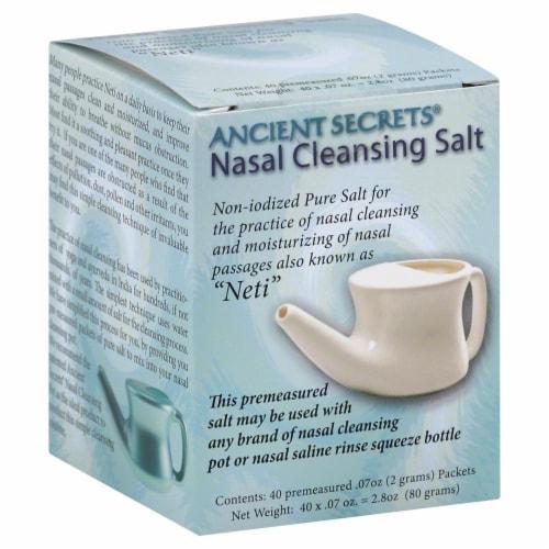 Ancient Secrets Nasal Cleansing Salt Perspective: front