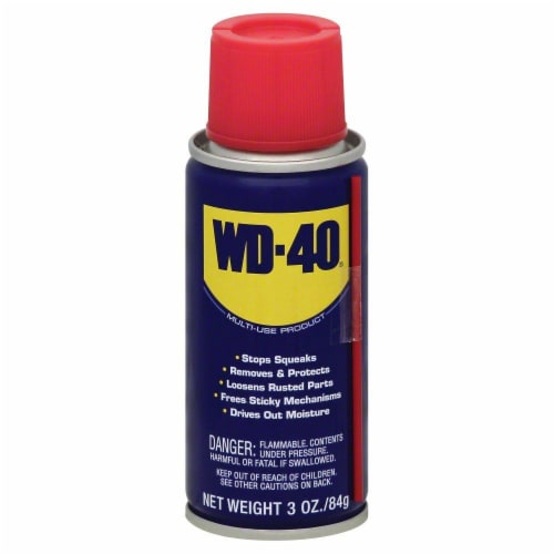 WD-40® Lubricant Spray Perspective: front