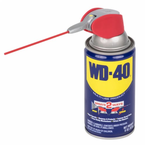 WD-40® Smart Straw Lubricant Spray Perspective: front