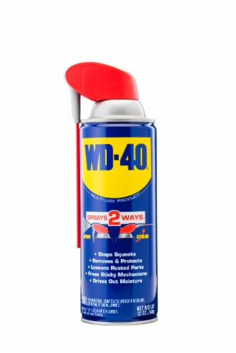 WD-40 Smart Straw Lubricant Spray Perspective: front