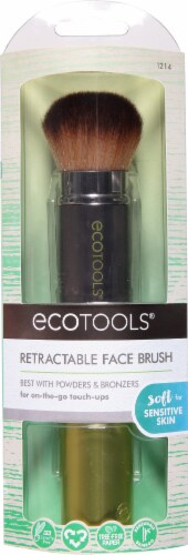 Ecotools Retractable Face Brush Perspective: front