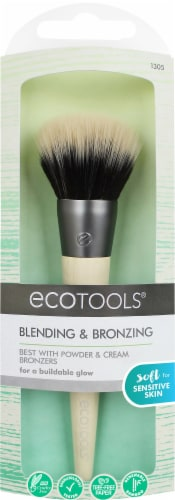 Ecotools Blending & Bronzing Cosmetic Brush Perspective: front