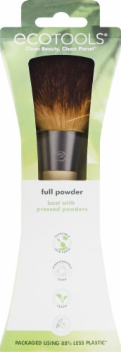 Ecotools Full Powder Cosmetic Brush Perspective: front