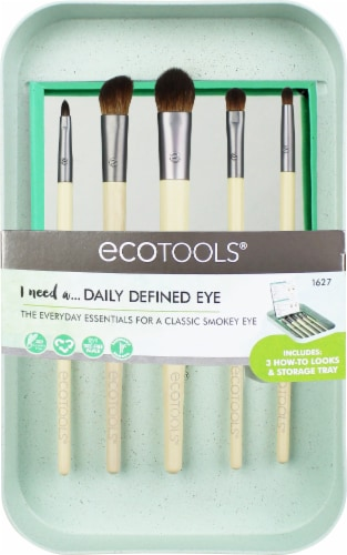 Ecotools Daily Defined Eye Brush Kit Perspective: front