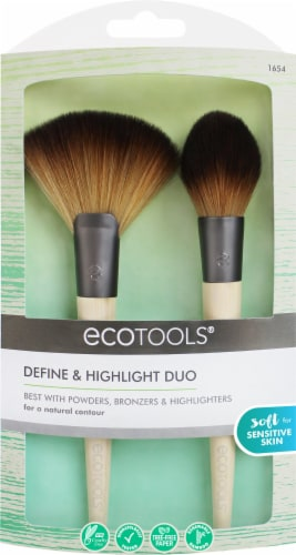 EcoTools Define & Highlight Duo Brush Set Perspective: front