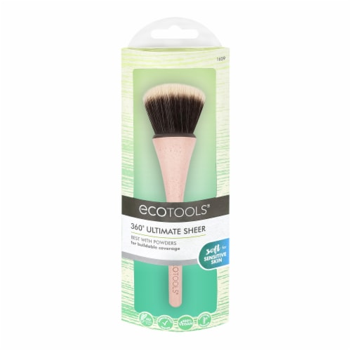 Ecotools 360 Ultimate Sheer Powder Brush Perspective: front