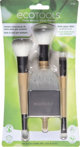 Ecotools Love Your Skin Brush Set Perspective: front