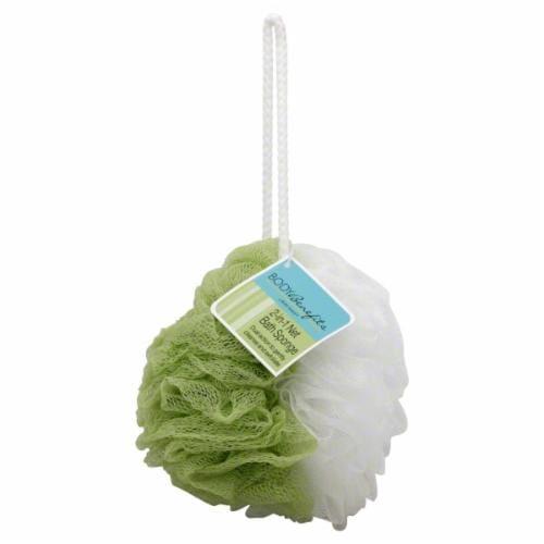 Body Benefits 2-In-1 Net Bath Sponge Perspective: front