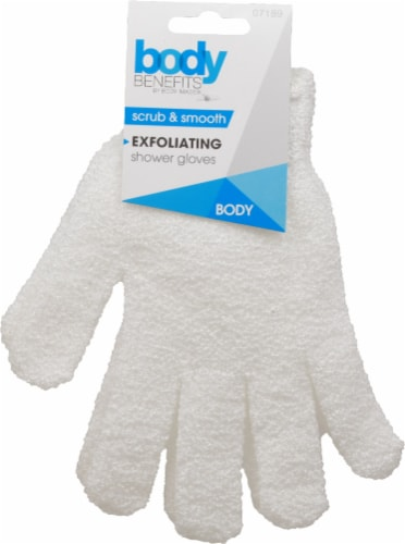 Body Benefits Exfoliating Shower Gloves Perspective: front