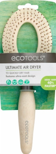 Ecotools Ultimate Air Dryer Hairbrush Perspective: front
