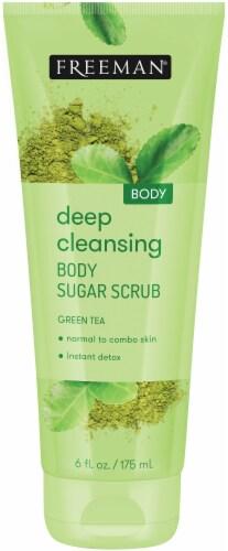 Freeman Green Tea Body Sugar Scrub Perspective: front