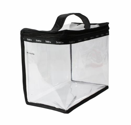 Modella Basics Clear Train Case Perspective: front