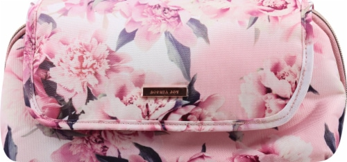 Sophia Joy Floral Makeup Bag Perspective: front