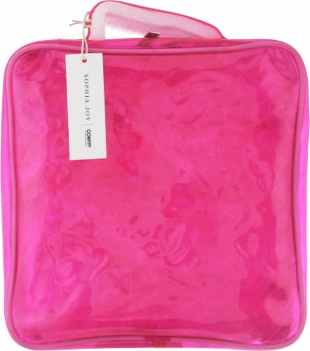 Sophia Joy Tinted Travel Bag - Pink Perspective: front