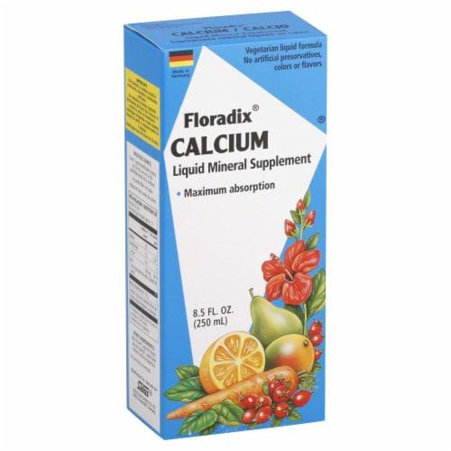 Floradix Calcium Liquid Perspective: front