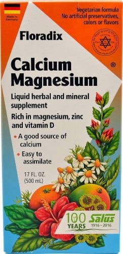 Flora  Floradix® Calcium-Magnesium Liquid Perspective: front