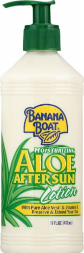 Banana Boat Aloe After Sun Moisturizing Lotion Perspective: front