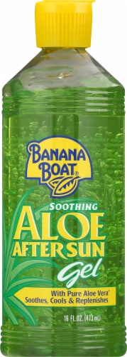 Banana Boat Soothing Aloe After Sun Gel Perspective: front