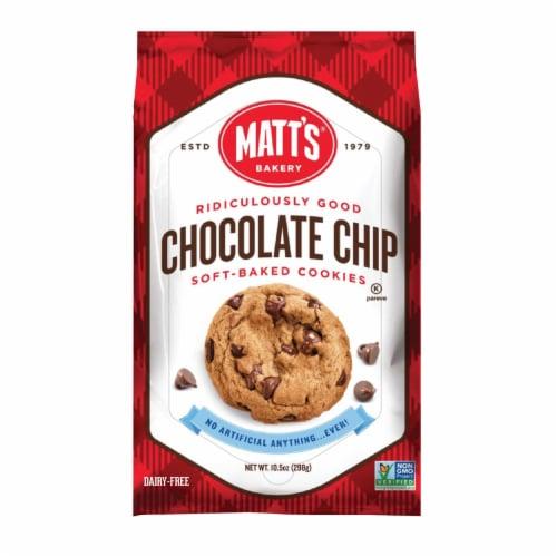 Matt's Chocolate Chip Cookies Perspective: front