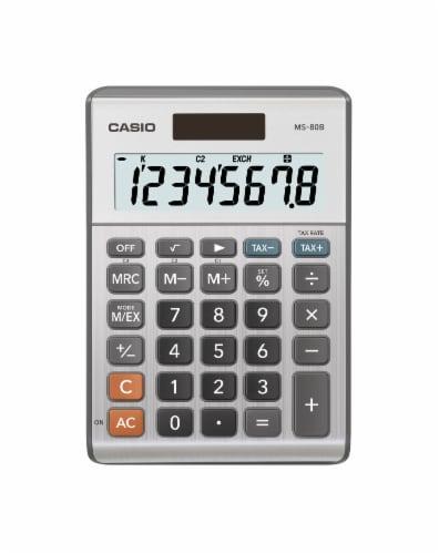Casio MS-80B Desktop Calculator Perspective: front