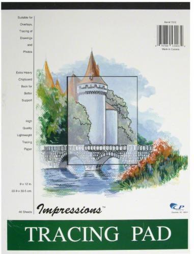 Carolina Pad Impressions Tracing Pad - 40 Sheets Perspective: front