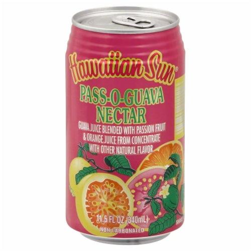 Hawaiian Sun Pass-O-Guava Nectar Perspective: front