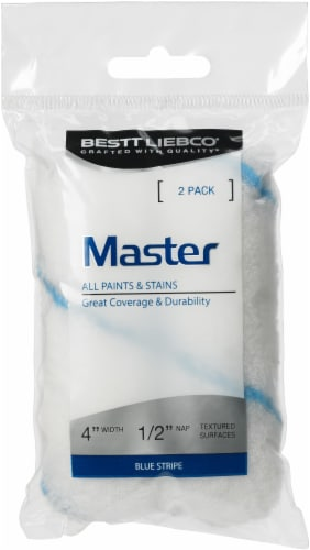 Bestt Liebco® Master Roller Cover - White/Blue Perspective: front